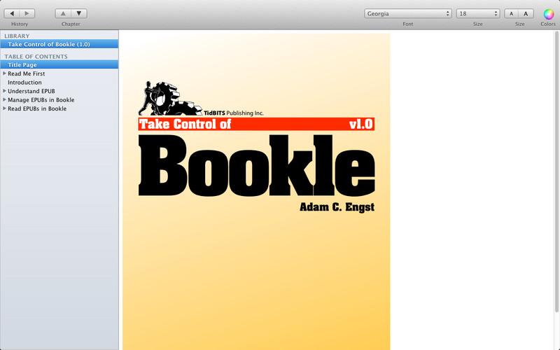 Bookle, νέα εφαρμογή για ePUB στους υπολογιστές Macintosh