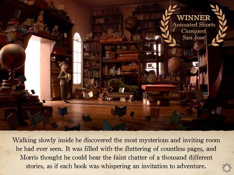 """""""Τα Φανταστικά Ιπτάμενα Βιβλία του κ. Morris Lessmore"""", όμορφο βιβλιοφιλικό βίντεο και εφαρμογή-βιβλίο"""
