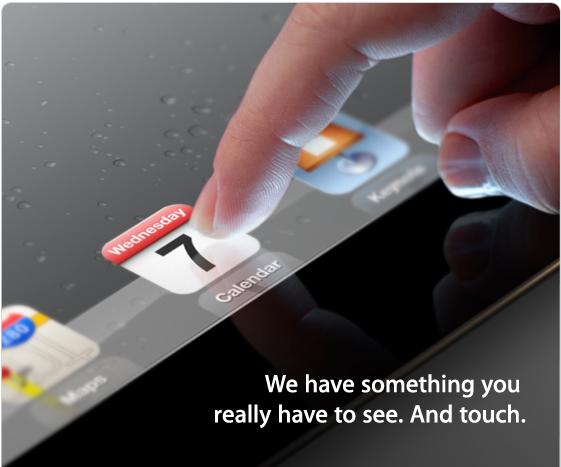 Στις 7 Μαρτίου παρουσιάζεται το iPad 3 – Τι νέο μπορεί να φέρει