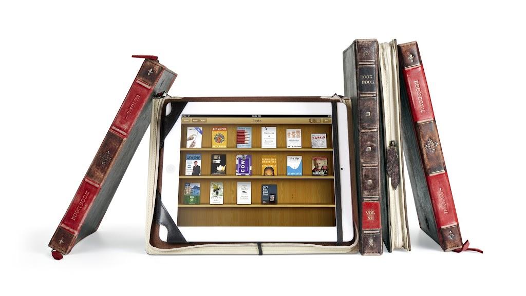 Θηκές BookBook για iPhone, iPad και MacBook Air, σαν παλιό, δερματόδετο βιβλίο