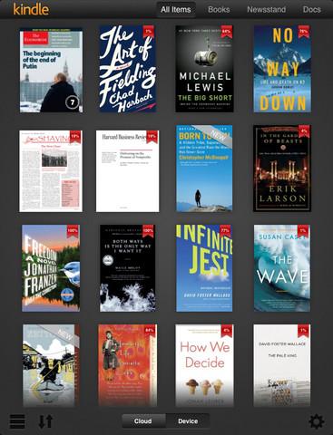 Αναβάθμιση στις εφαρμογές Kindle για iPhone και iPad ειδικά για την οθόνη Retina