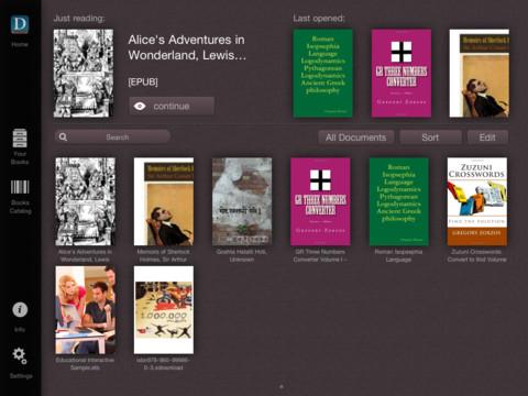 Επανασχεδιασμός για τις εφαρμογές του MyeBooks για iPad, iPhone και Android