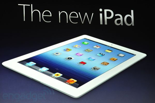 Ανακοινώθηκε το iPad 3 με οθόνη υψηλής ανάλυσης (Retina), φτηνότερο το iPad 2 16 GB
