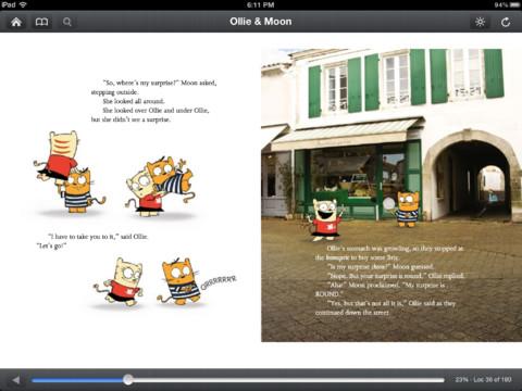 Αναβάθμιση της εφαρμογής Kindle για το iPad με κόμιξ, παιδικά βιβλία