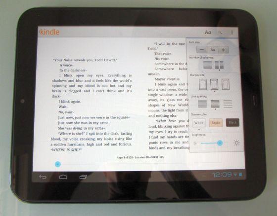 Αναβάθμιση της εφαρμογής Kindle for Android, κυρίως για τα tablet PC