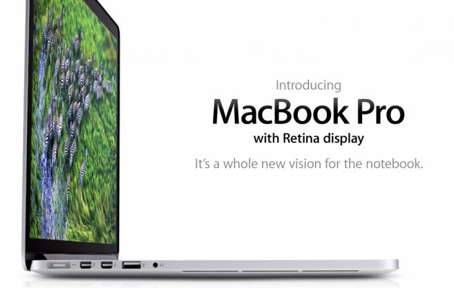 Το νέο MacBook Pro με οθόνη Retina ξαναφέρνει την ανάγνωση στα laptop