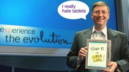 Η Microsoft είχε έτοιμο ηλεκτρονικό αναγνώστη το 1998 αλλά ο Bill Gates προέβαλε βέτο (και μάλλον είχε δίκιο)