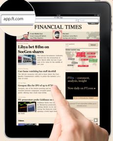 Financial Times: οι ψηφιακές συνδρομές ξεπερνούν πια της χάρτινες