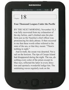 Νέος ηλεκτρονικός αναγνώστης BeBook Pure