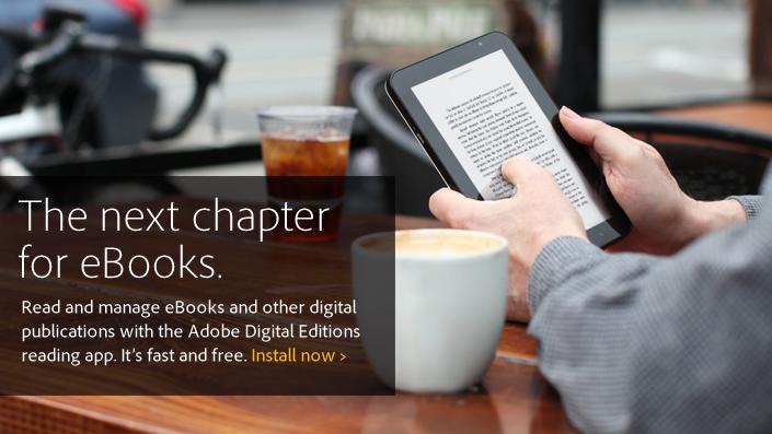 Το νέο Adobe Digital Editions για ebooks στους υπολογιστές φέρνει πλήρη υποστήριξη των ελληνικών