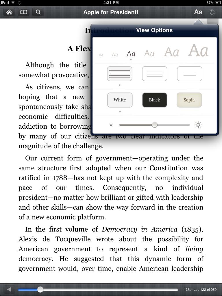 Αναβάθμιση για την εφαρμογή Kindle για iPad και iPhone