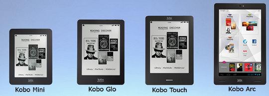 Δύο ηλεκτρονικούς αναγνώστες και ένα tablet PC παρουσίασε σήμερα το Kobo