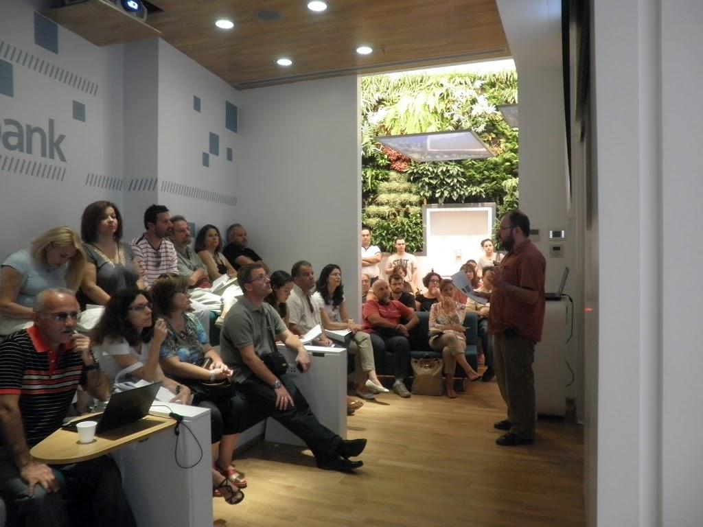 Μεγάλη συμμετοχή και πλούσια συζήτηση στην εκδήλωση για τα ebooks στο Mall