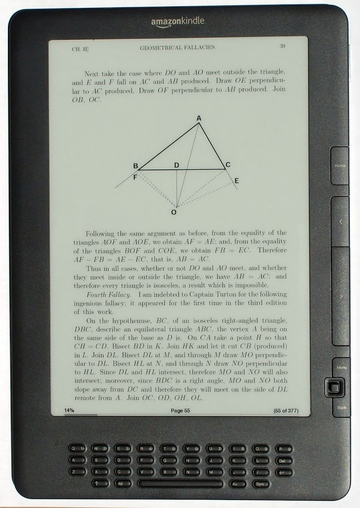 "Amazon: ""Τελειώσαμε με το Kindle DX"""