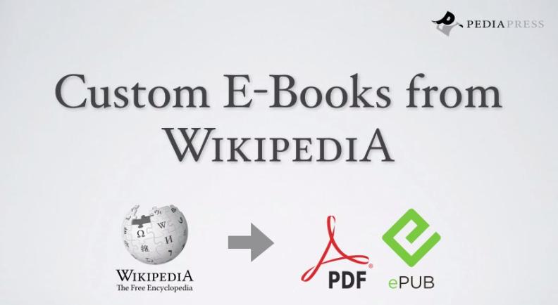 Δημιουργήστε το δικό σας e-book σε ePUB από άρθρα της Wikipedia