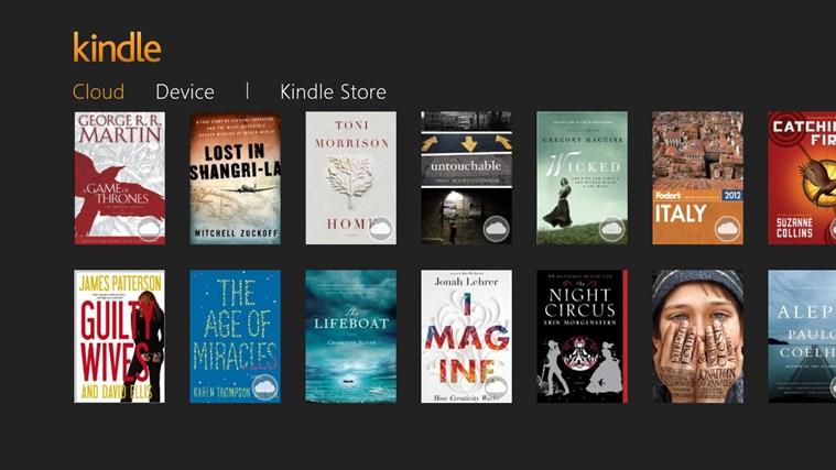 Εφαρμογή Kindle για Windows 8 και Windows RT από το Amazon και για την Ελλάδα