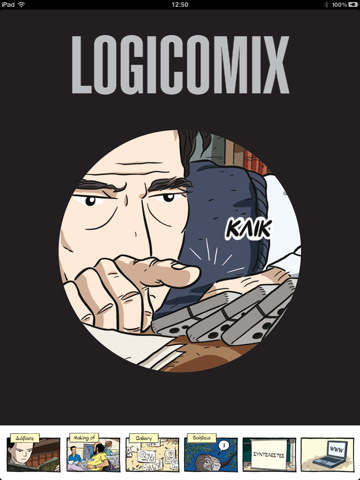 Σε προσφορά η εφαρμογή Logicomix για iPhone και iPad για τα 4 χρόνια κυκλοφορίας