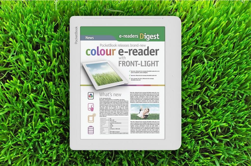 Έγχρωμο ηλεκτρονικό αναγνώστη με εσωτερικό φωτισμό ετοιμάζει η PocketBook