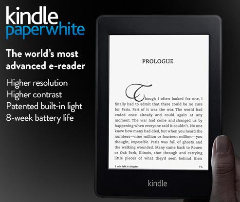 Διαθέσιμο για αγορά από Ελλάδα και Κύπρο το Kindle Paperwhite (Οδηγός αγοράς)
