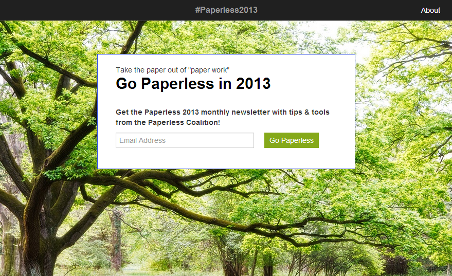 #Paperless2013: Η Google προτείνει να καταργήσουμε το χαρτί στα γραφεία το 2013