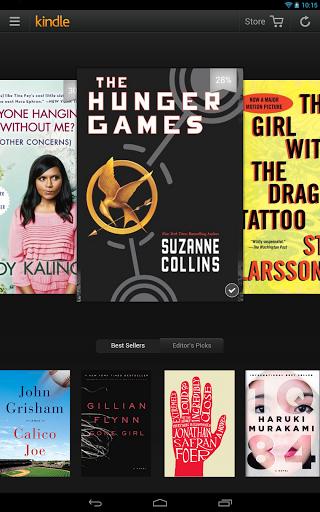 Αναβάθμιση της εφαρμογής Kindle for Android με καρουσέλ