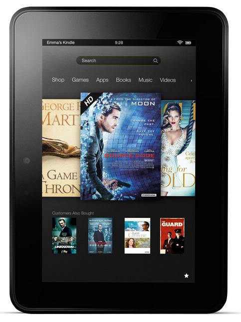 Άνοιξαν οι παραγγελίες για τα Kindle Fire  HD από την Ελλάδα και την Κύπρο