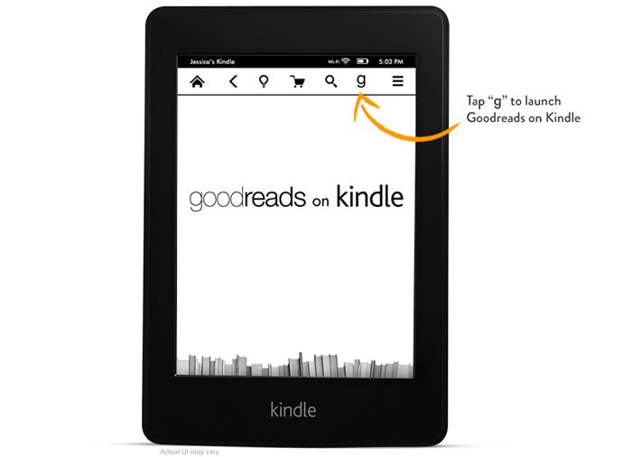 Πώς το Goodreads ενσωματώνεται στα Kindle (φώτο)