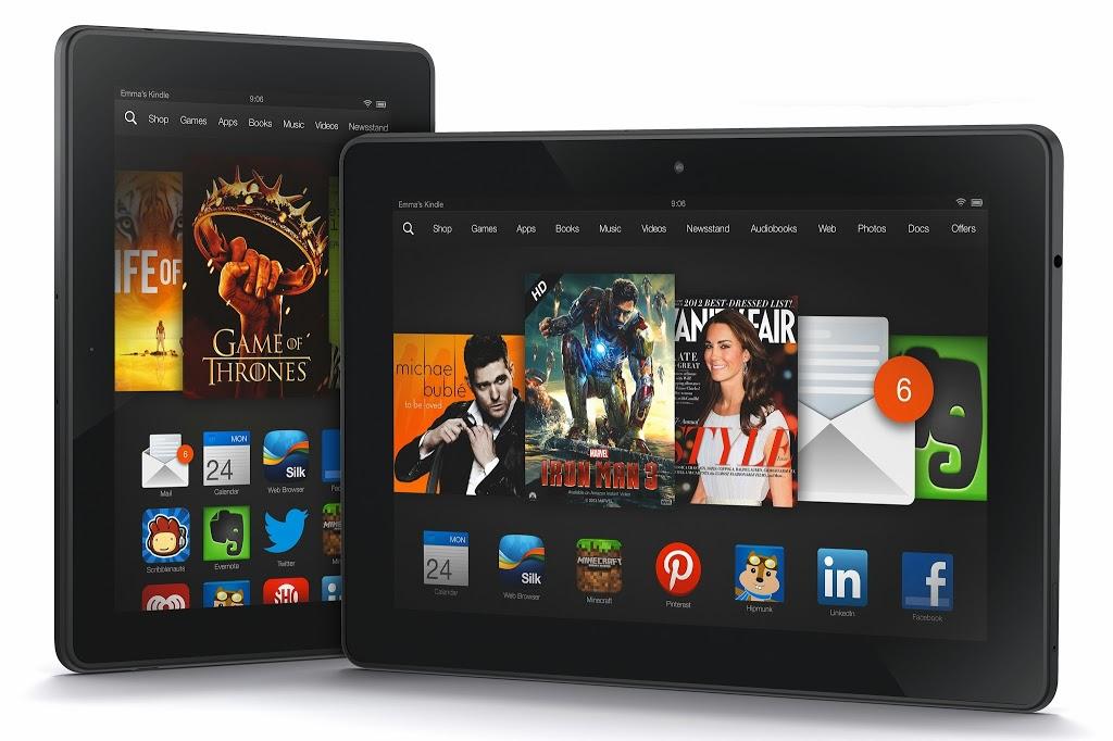 Νέα Kindle Fire ανακοίνωσε το Amazon