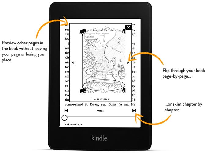 Kindle Page Flip, το ξεφύλλισμα τώρα και στα ebooks