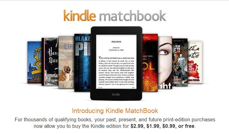 Σε λειτουργία το Kindle Matchbook για συνδυασμό έντυπων και ebooks