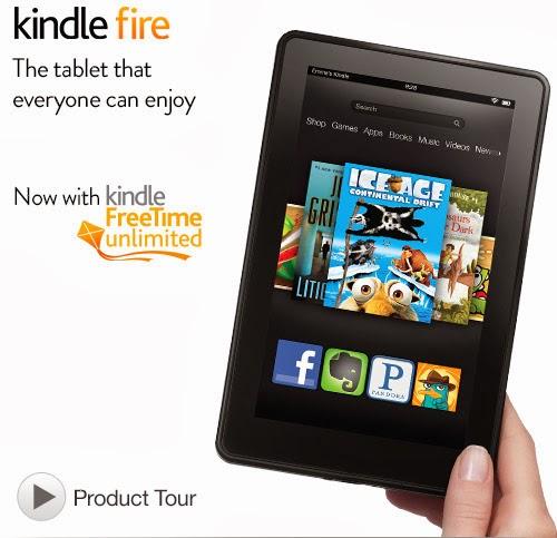 Πωλείται ελαφρά μεταχειρισμένο Kindle Fire HD, 7′ ιντσών