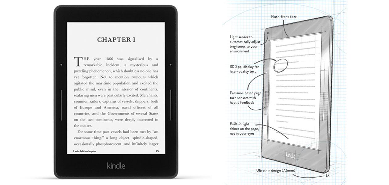Kindle Voyage, νέα κατηγορία Kindle με τεχνολογία αιχμής και υψηλή τιμή