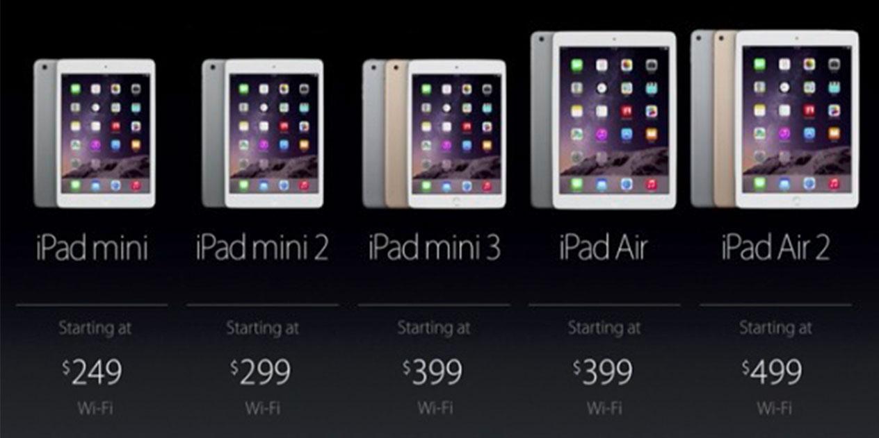 Νέα iPad Air και iPad mini παρουσίασε η Apple