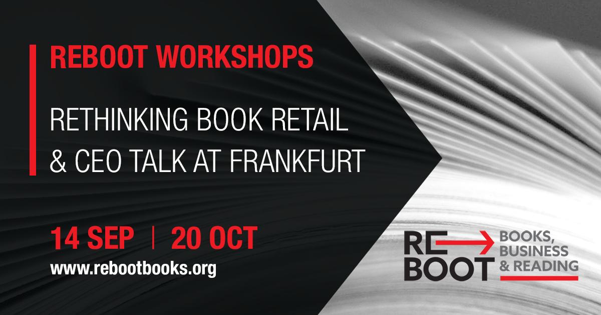 ReBoot workshop: Βιβλιοπωλεία και διεθνείς καλές πρακτικές λιανικής πώλησης βιβλίων