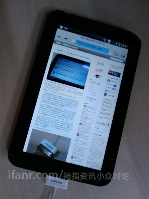 Το Samsung Galaxy Tab με Android σε δοκιμές (φωτό και video)