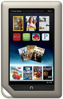Nook Tablet με 8GB εσωτερική μνήμη στα $199 από το Barnes & Noble