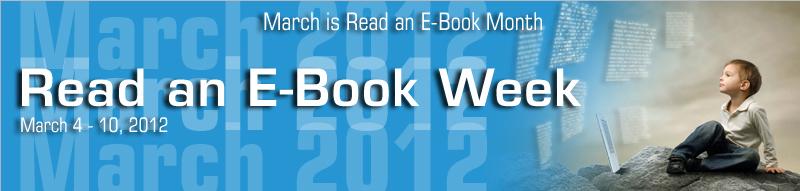 """""""Εβδομάδα ανάγνωσης ebooks"""", 4-12 Μαρτίου 2012"""