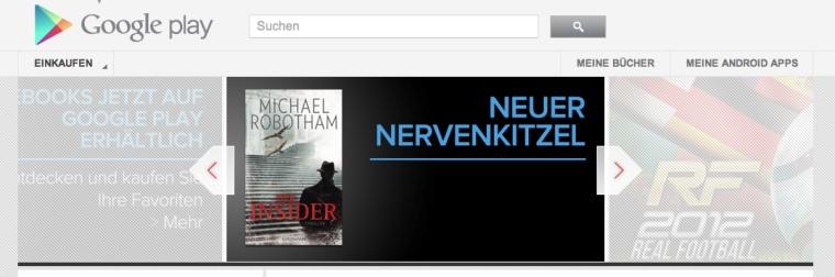 Άνοιξε στη Γερμανία και την Ισπανία το ηλεκτρονικό βιβλιοπωλείο του Google Play