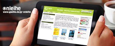 Δανεισμό ebooks έχει ξεκινήσει το Ινστιτούτο Γκαίτε στην Ελλάδα