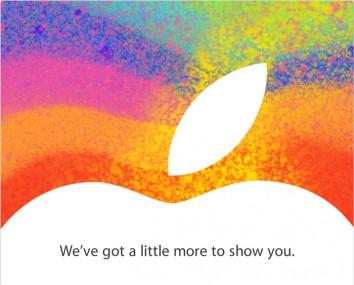 Επίσημο: στις 23 Οκτωβρίου η παρουσίαση του iPad Mini